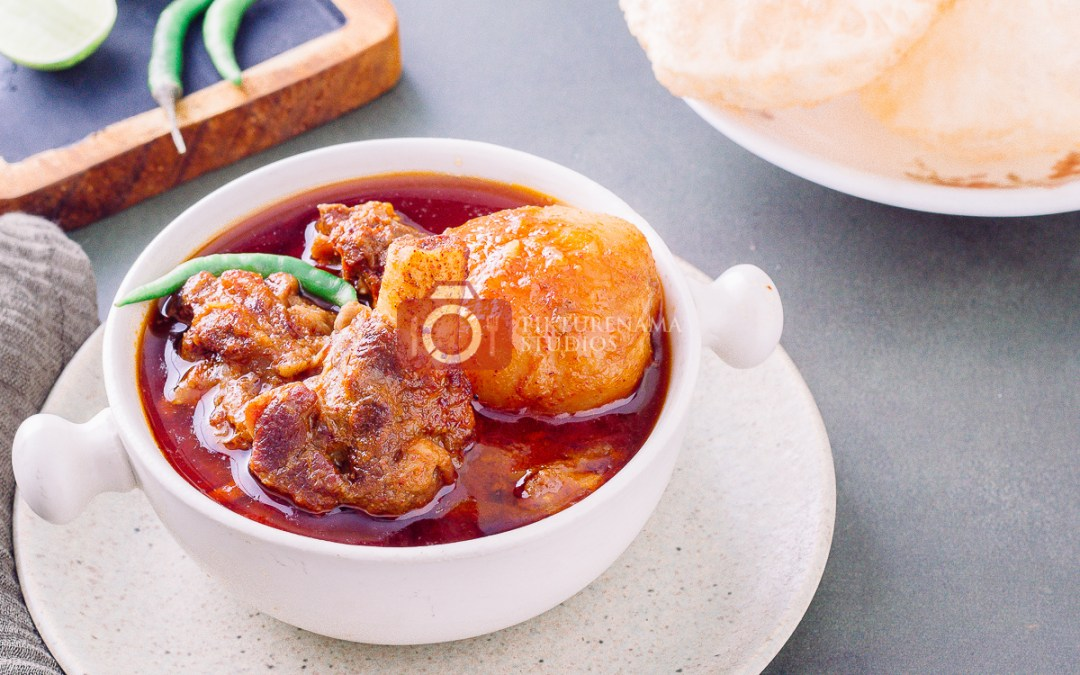 How to make bengali Mangshor Jhol at home - 1