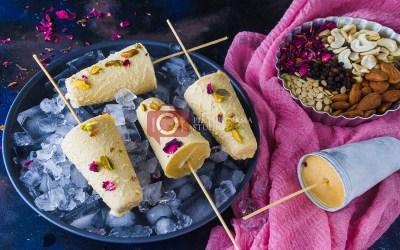 Thandai Kulfi – an easy to make Holi Recipe