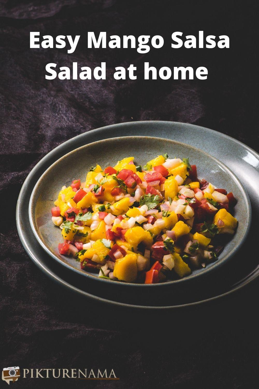 Mango Salsa Salad for Pinterest - 2
