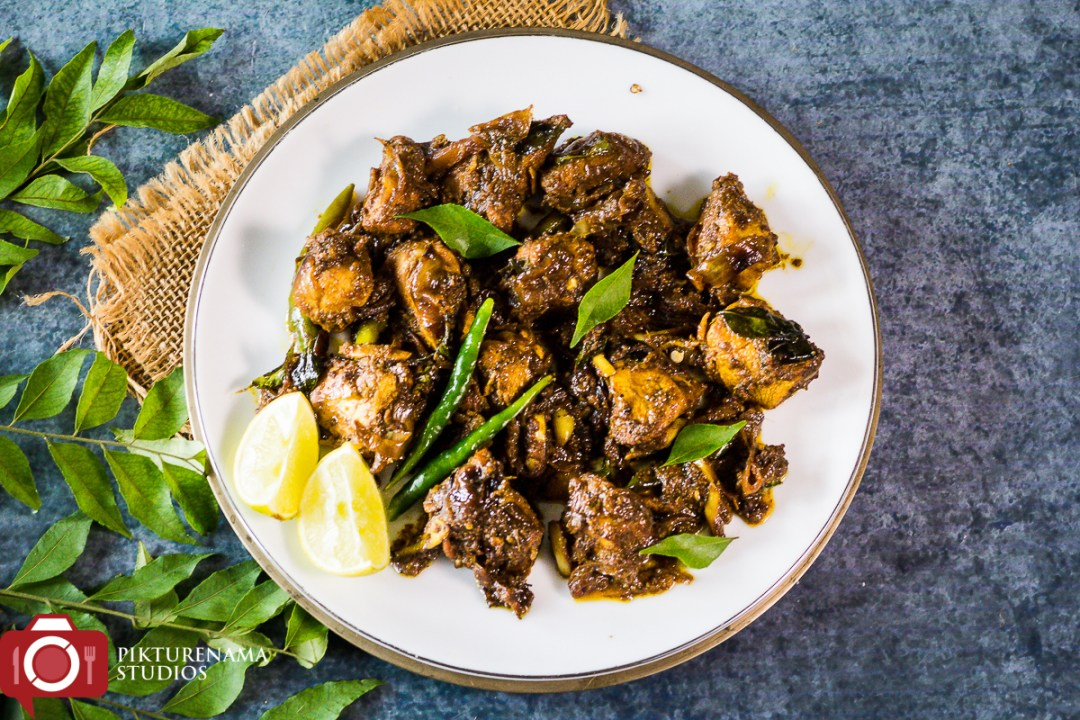 How to make Andhra Pepper Chicken - 5