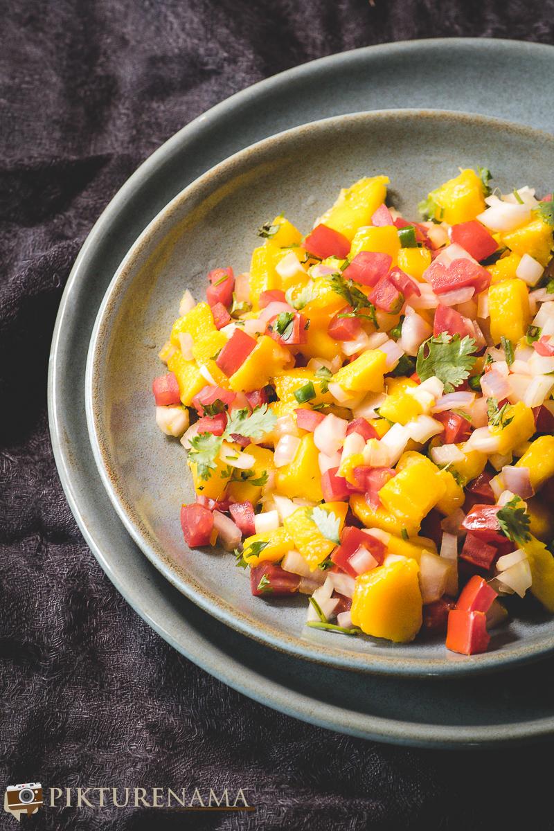 how to make Mango Salsa - 4