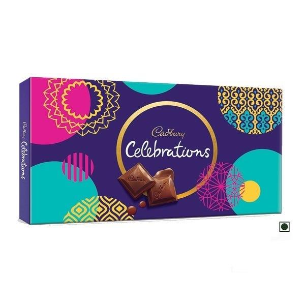 snacking on cadbury celebration