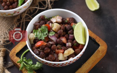 Kala Chana Chaat | Black chickpea salad- A lost para culture and good neighbours
