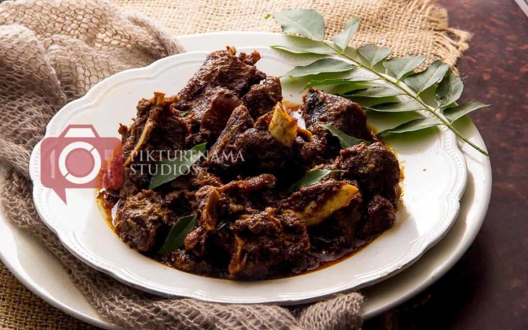Kerala Mutton Roast - Mutton Ularthiyathu Recipe - 1