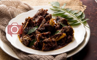 Kerala Mutton Roast – Mutton Ularthiyathu Recipe