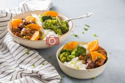 How to make Orange Chicken Rice Bowl- The Quick-fix for Weeknight Dinner