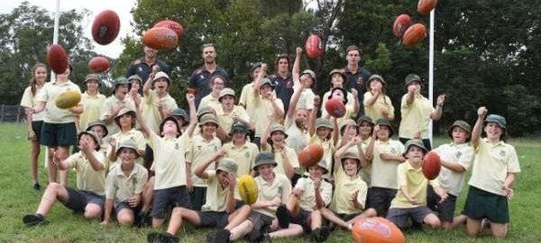 PILA AFL Goal Posts - 100 Schools