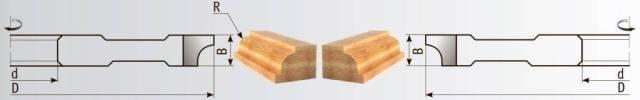 02-481 Фрезы для обработки полуштапов