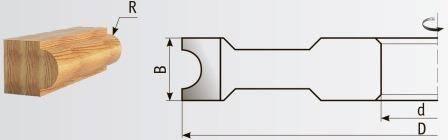 02-216 Фрезы для обработки штапов