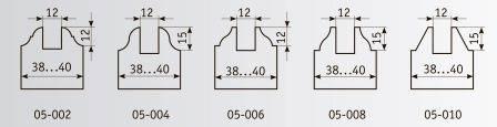 05-006 Комплект фрез 200*32 мм для дверной обвязки