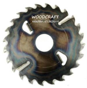 Дисковая пила Woodcraft 400*50*4,4/3,0*24z+4