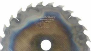 Дисковая пила Woodcraft 400*50*4,0/2,8*18