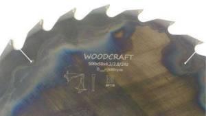 Дисковая пила Woodcraft 500*50*4,4/2,8*18
