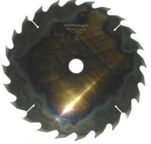 Дисковая пила Woodcraft 550*50*5,1/3,5*24z+24+6