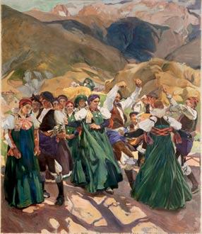 Aragón, la jota, 1914