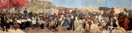 Castilla, la fiesta del pan, 1913