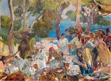 Cataluña, el pescado, 1915