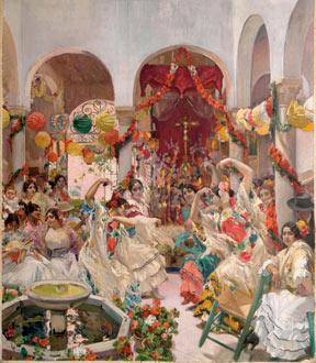 Sevilla, el baile, 1915