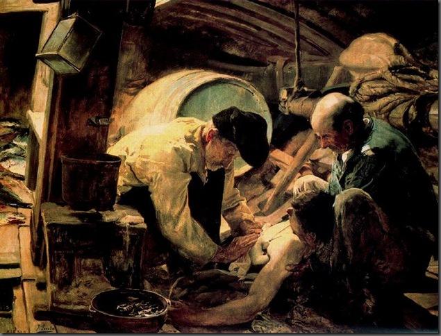 Y aún dicen que el pescado es caro, 1894