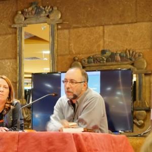 Con Rubén Vega