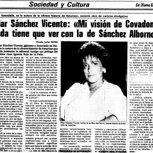 La Nueva España, 14/08/1986