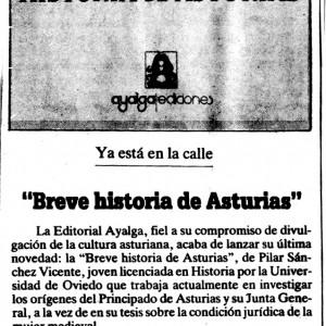 La Voz de Asturias, 21/08/1986