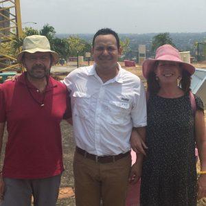 Managua. Con Camilo Vasquez