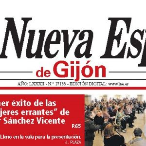 9-5- La nueva España- Gijon- Portada.