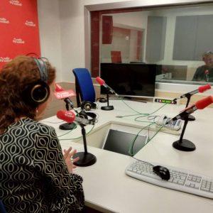 Bilbao. Euskadi Irratia. Pompas de papel