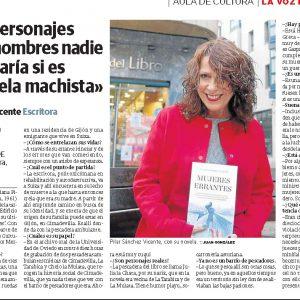 3-7-El Comercio de Aviles- Entrevista con Pilar Sánchez Vicente