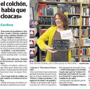 21-4-El Comercio- Entrevista con Pilar Sanchez Vicente
