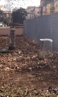 La fontana del giardino pubblico
