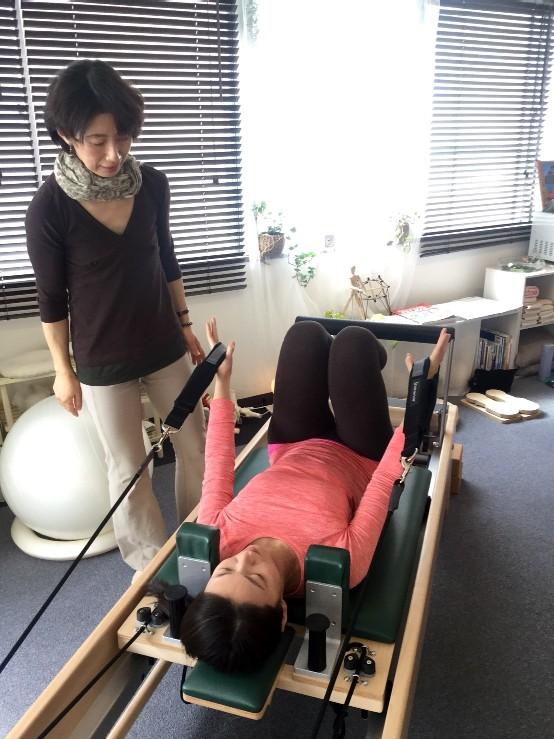Pilates Equipment Machine Excecise Trial Fefomer ピラティス マシン エクササイズ 体験会 リフォーマー