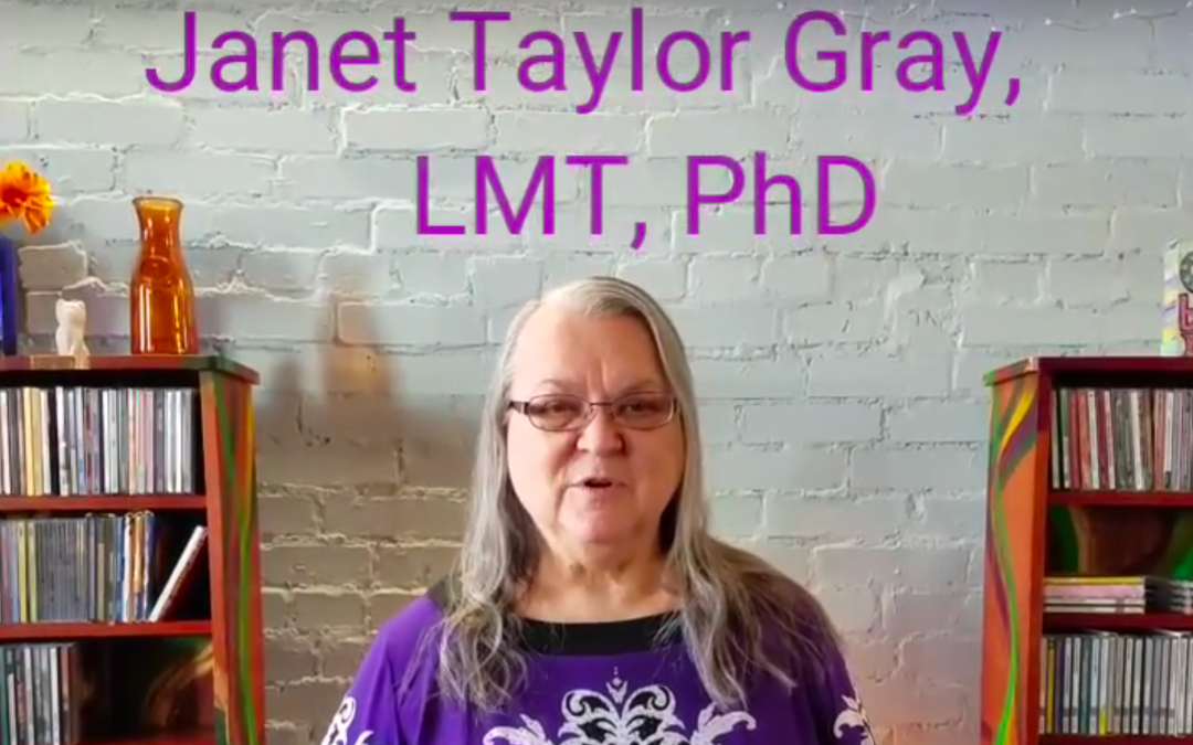 DIY Acupressure and a Miscellany of Health Tips – Janet Taylor Gray, LMT, PhD