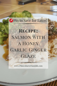 Salmon with a Honey Garlic Ginger Glaze Recipe