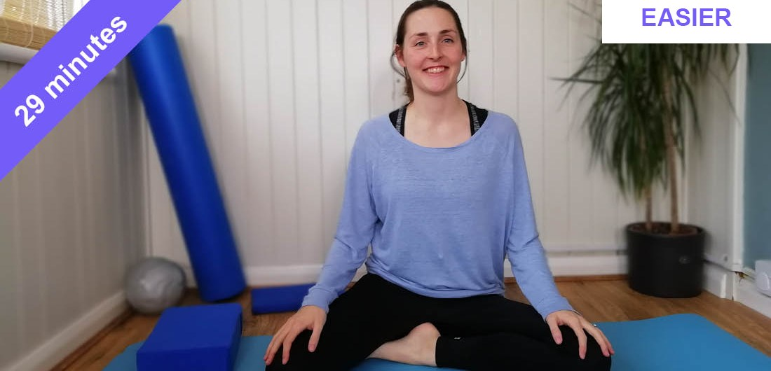 Pilates stretching and strengthening