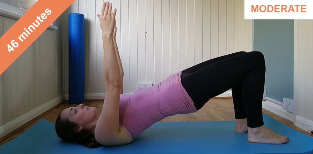 Abs and glutes muscle control-t