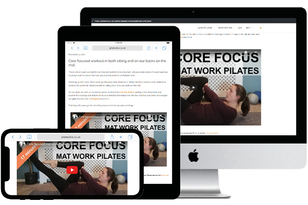 Free online pilates classes on any device