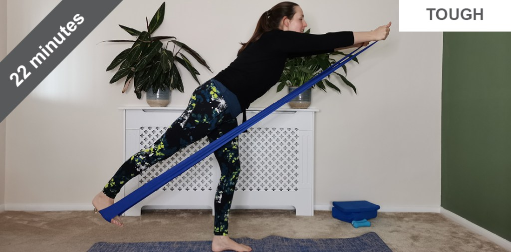 resistance band pilates workout