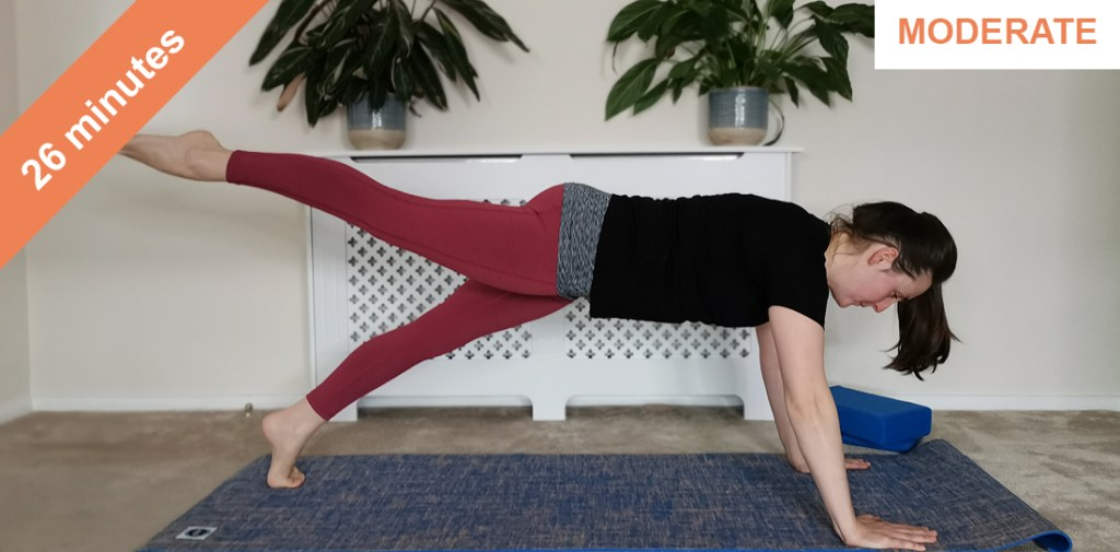 pilates core strengthening