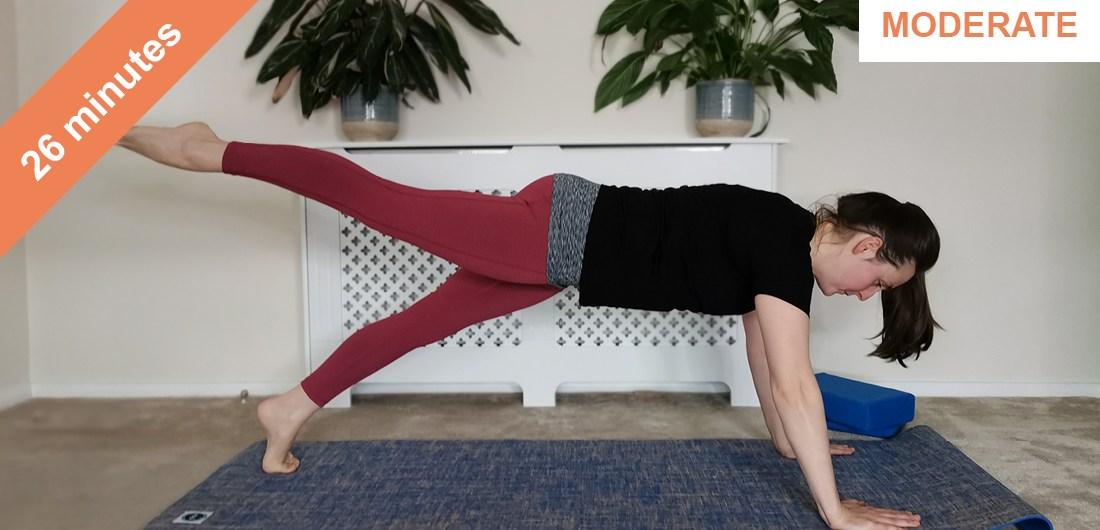pilates core strengthening