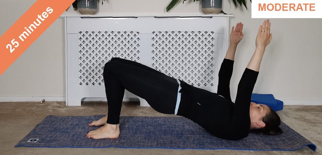 Pilates morning routine