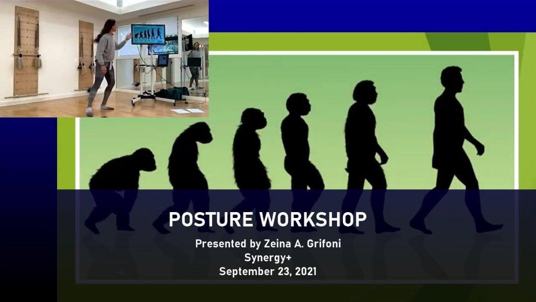 posture workshop for pilates instructors presented by Zeina Grifoni