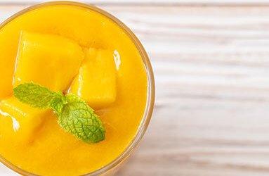 Mango Breakfast or Lunch Smoothie