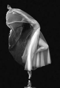 Veiled dancer