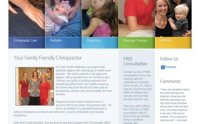 New WordPress Website for Total Family Wellness