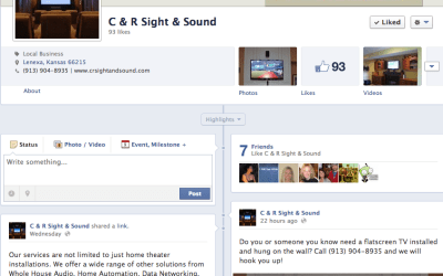 New Social Media for C&R Sight and Sound