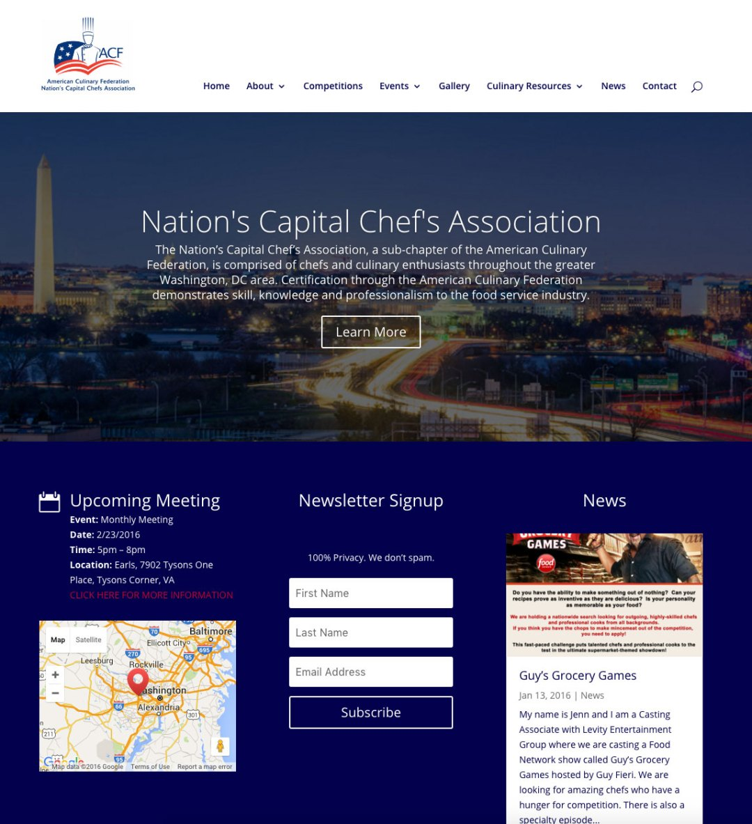 ACF Nation's Capital Chef's Association