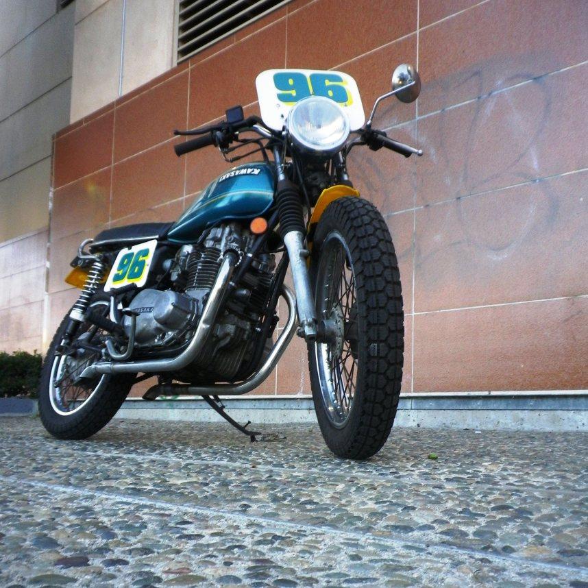 1976 Kawasaki KZ400 Street Tracker Build Pilez Driverz