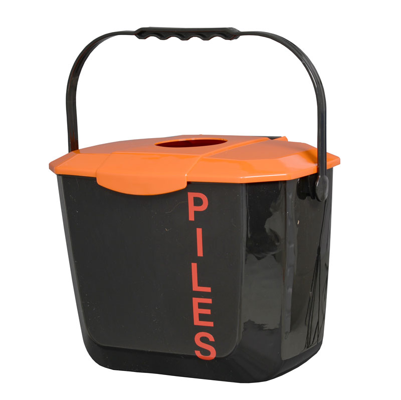 Collecteur piles battery bin collector CP82L Pile PourlaVie
